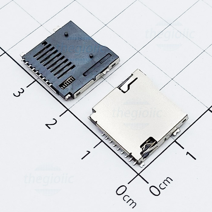 Khay Thẻ Nhớ MicroSD 9Pin Push-Push V2