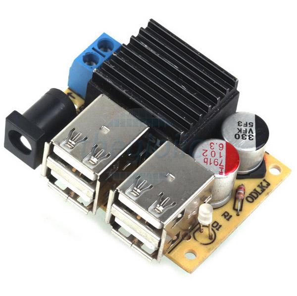 Mạch Ổn Áp 5V5A Dual USB