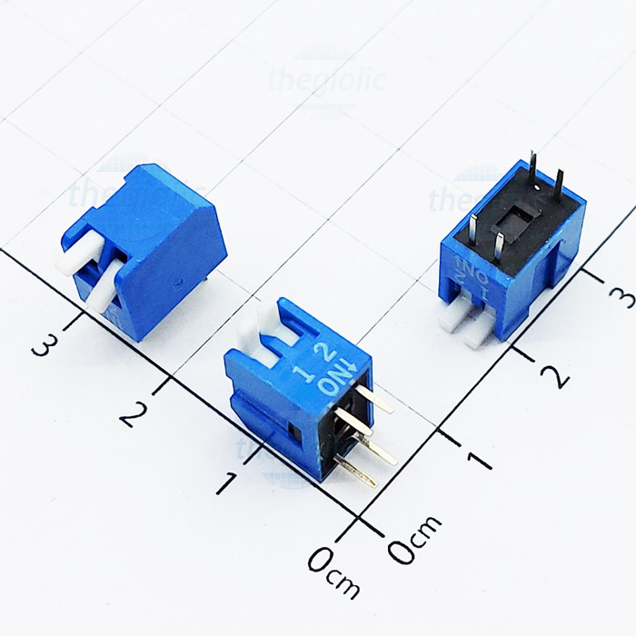 Công Tắc 2Bit Dạng Piano Dip Switch