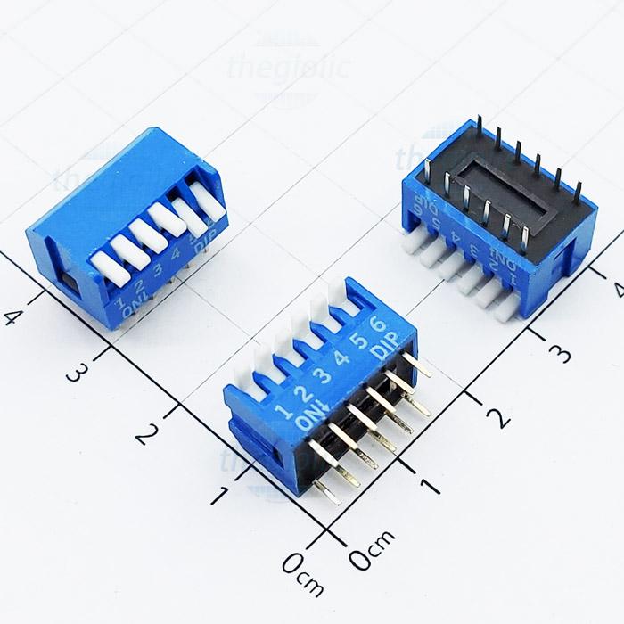 Công Tắc 6Bit Dạng Piano Dip Switch