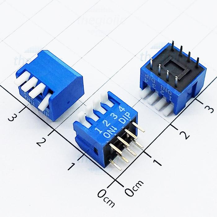 Công Tắc 4Bit Dạng Piano Dip Switch