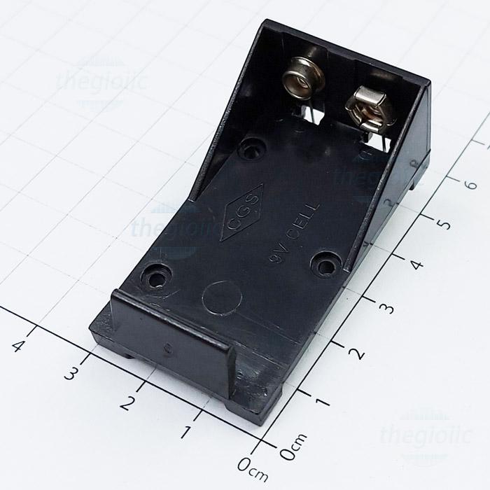 Đế Pin 9V Hàn PCB