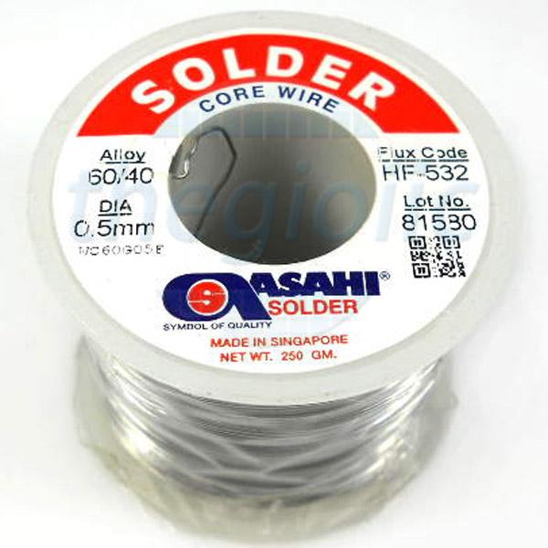 Thiếc Hàn 0.5 60Sn 40Pb 500G Asahi