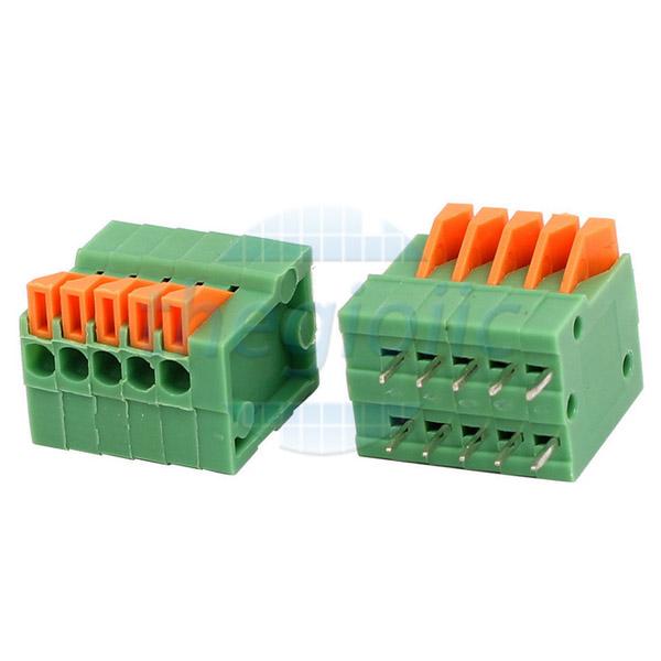 5P-KF141R Terminal Block Nằm Ngang 5Pin 2.54