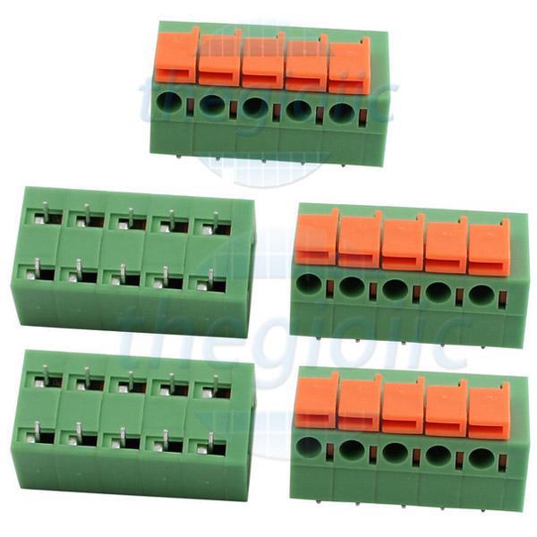 5P-KF142R Terminal Block Nằm Ngang 5Pin 5.08