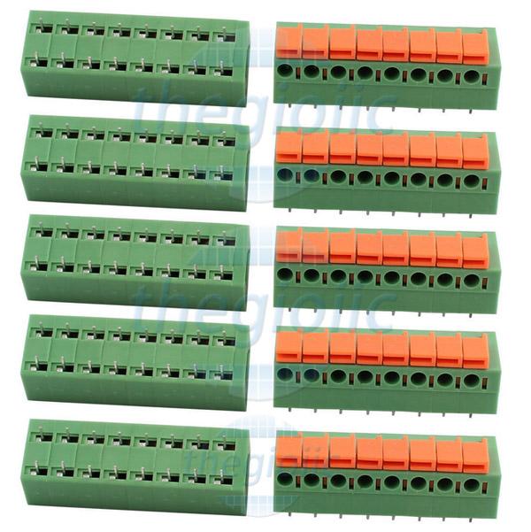 8P-KF142R Terminal Block Nằm Ngang 8Pin 5.08