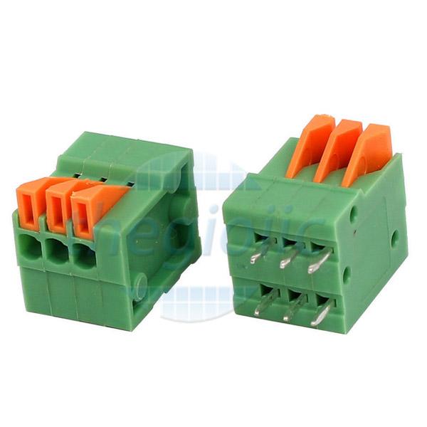 3P-KF141V Terminal Block Dọc 3 Chân 2.54