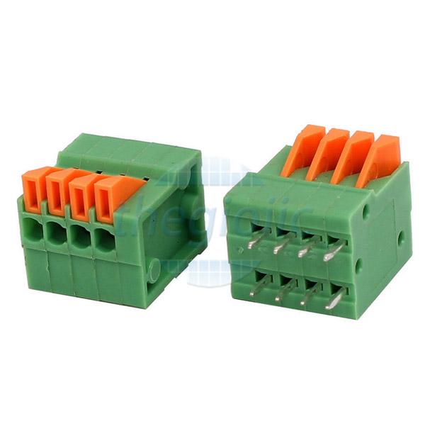 4P-KF141V Terminal Block Dọc 4 Chân 2.54
