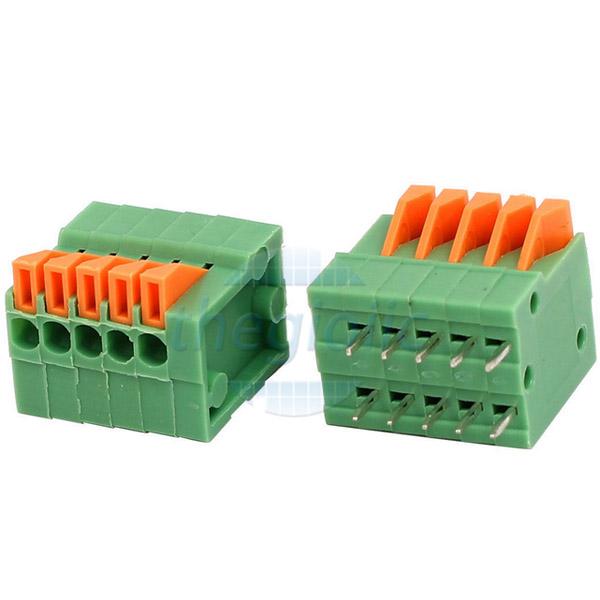 5P-KF141V Terminal Block Dọc 5 Chân 2.54