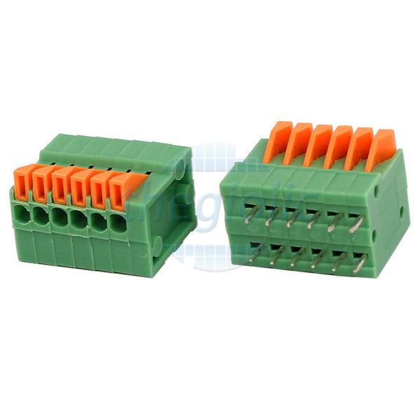 6P-KF141V Terminal Block Dọc 6 Chân 2.54
