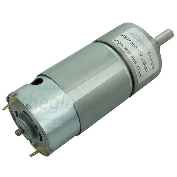 Động Cơ Giảm Tốc GB37-550 12V 60rpm