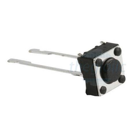 Nút Nhấn 6x6 Cao 10mm 2Pin Xuyên Lỗ