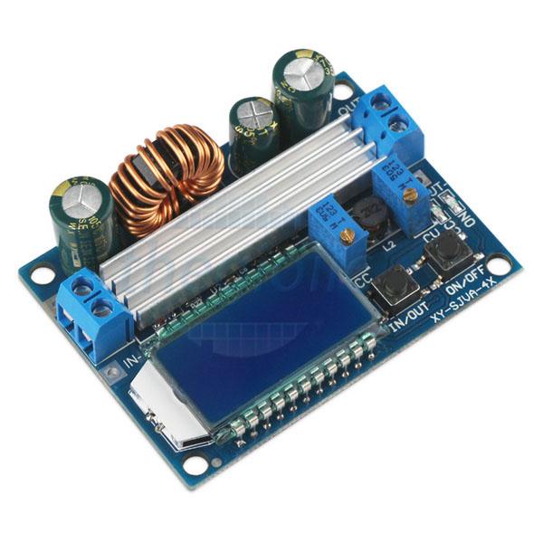 Mạch Điều Chỉnh Điện Áp 3A Có LCD Hiển Thị