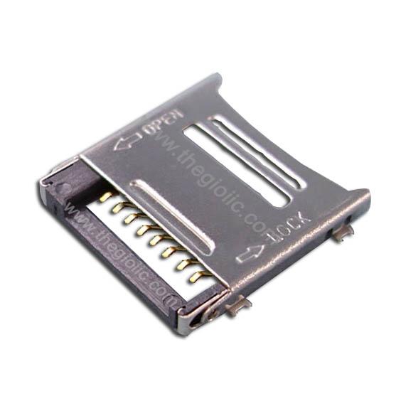 Khay Thẻ Nhớ MicroSD 8Pin Open-Lock V2