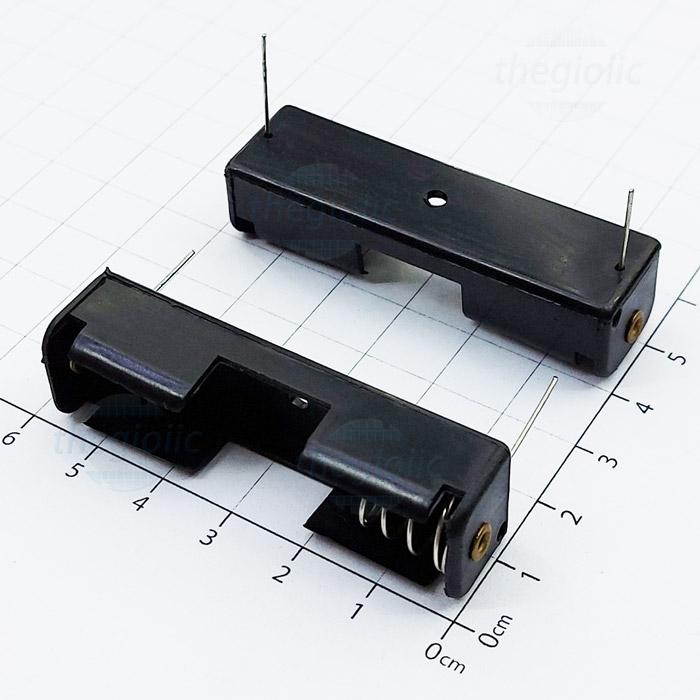 Hộp Pin 1xAAA Hàn PCB