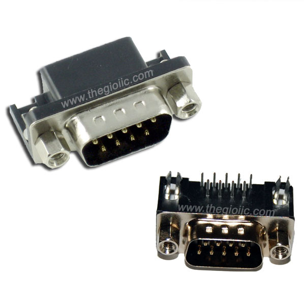 DB9 Male Connector for PCB