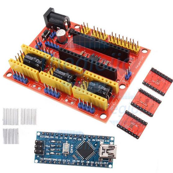 DIY Arduino Nano CNC Shield V4