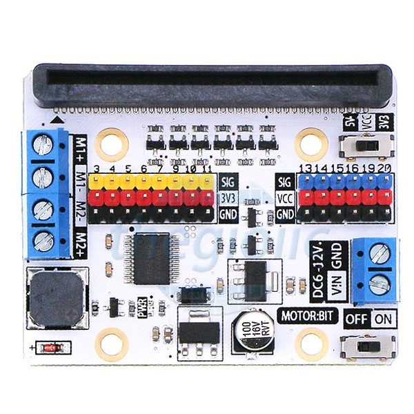 MotorBit Driver For MicroBit