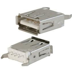 AF180 Cổng USB2.0 TypeA Đầu Cái 4Pin 180 Độ