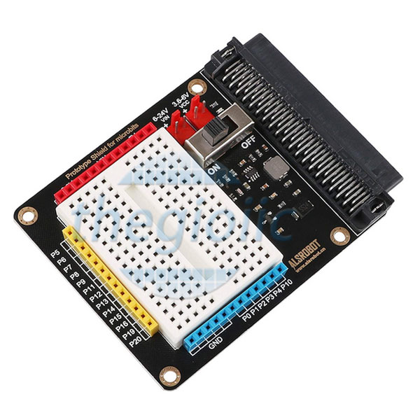 Expansion Board With Breadboard For MicroBit