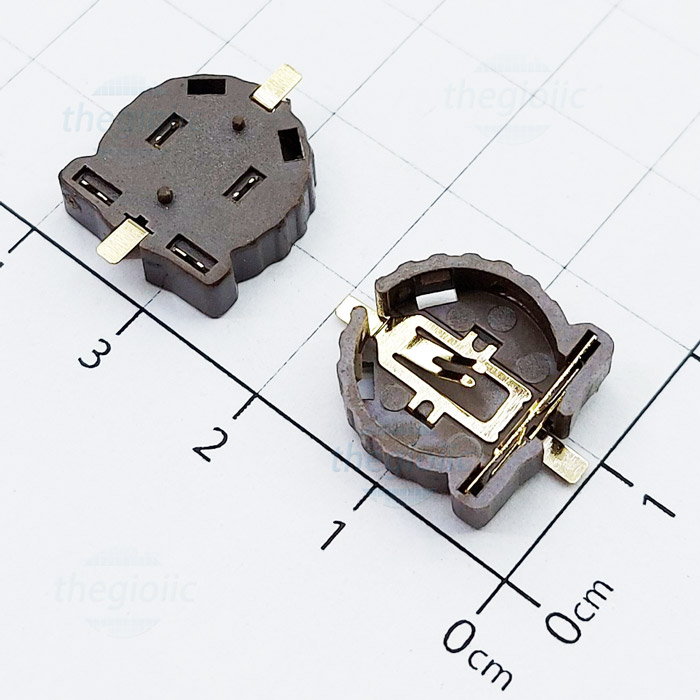 Đế Pin CR1220 SMD