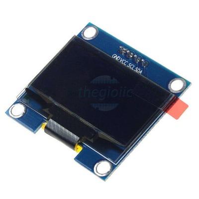 LCD OLED 1.3inch 128x64 IIC 4Pin Chữ Xanh Dương