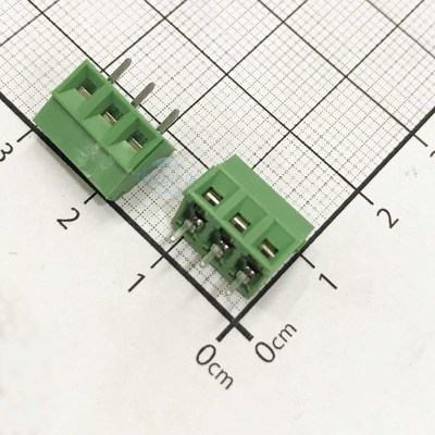 KF128-3-V Domino 3 Chân Thẳng 3.5mm Hàn PCB