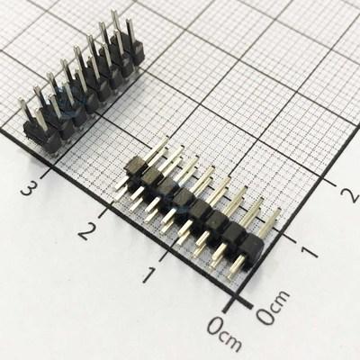 Hàng Rào 2.54 Đực Đôi 2x8Pin Cao 11.6mm