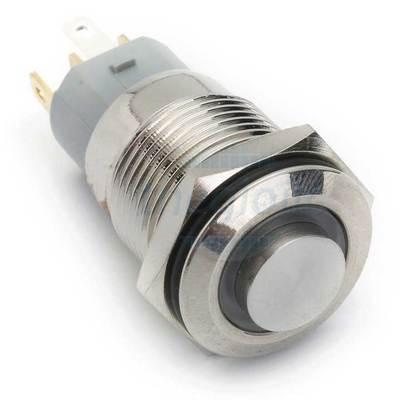 Nút Nhấn Giữ LED Xanh Lá 16mm 24V Inox 304 5Pin