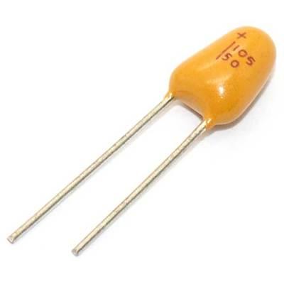 Tụ Tantalum 1uF 50V Xuyên Lỗ