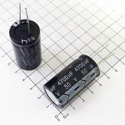 Tụ Hoá 4700uF 50V 22x40mm Xuyên Lỗ