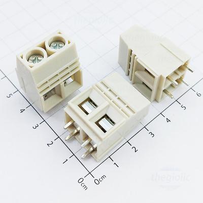 1016-2-V Domino 2 Chân Thẳng 15mm Hàn PCB