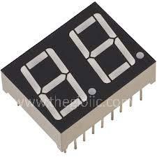 LED 7 Đoạn 0.8inch Đỏ 2 Số Âm Chung