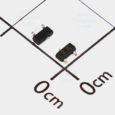 MMBT3906 Transistor PNP 40V 0.2A 3 Chân SOT-23