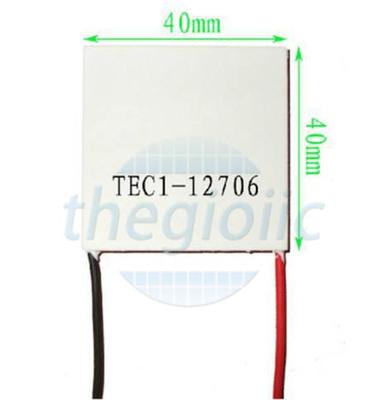 TEC1-12706 Sò Nóng Lạnh 50~72W