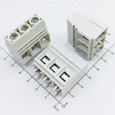1016-3-V Domino 3 Chân Thẳng 15mm Hàn PCB