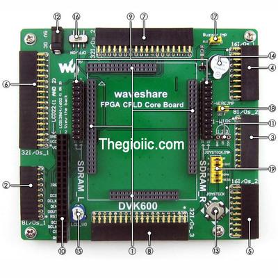 XC3S500E Extend Board DVK600