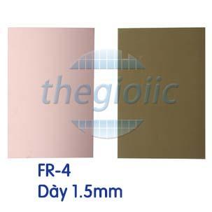 Tấm Đồng FR-4 1 Lớp 10x20cm Dày 1.5mm