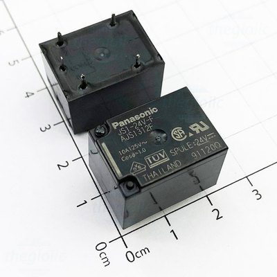 JS1-24V-F Relay Không Chốt SPDT 24V 10A